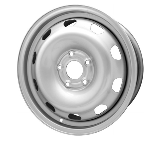 Колесо стальное 6,5Jx16H2 Renault Daster PCD 5x114.3 DIA 66.1 ET 50