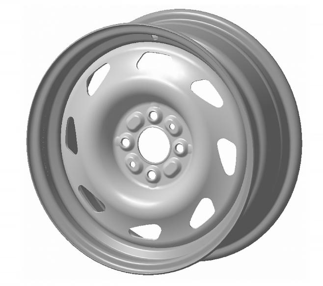 Колесо стальное 6Jx15H2 Lada GRANTA PCD 4x98 DIA 58.6 ET 35