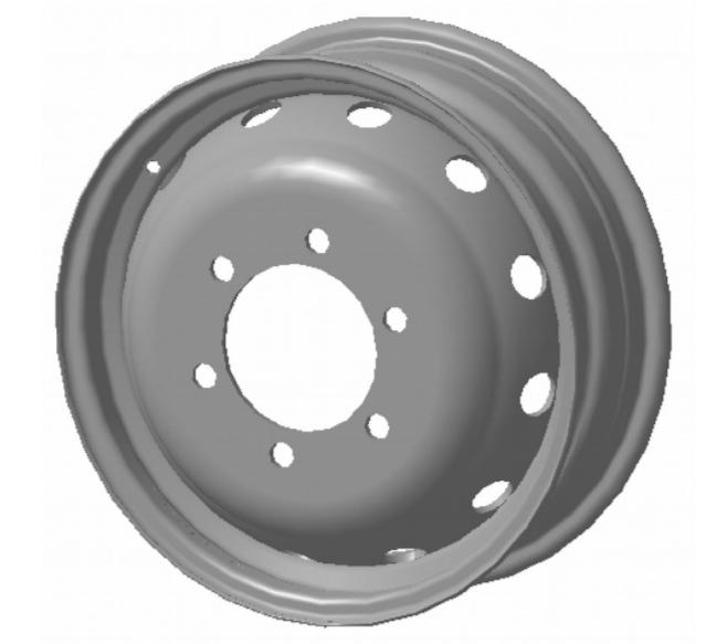 Колесо стальное 5.5Jx16H2 Газель PCD 6x170 DIA 130 ET 105 нагрузка 1200 кг